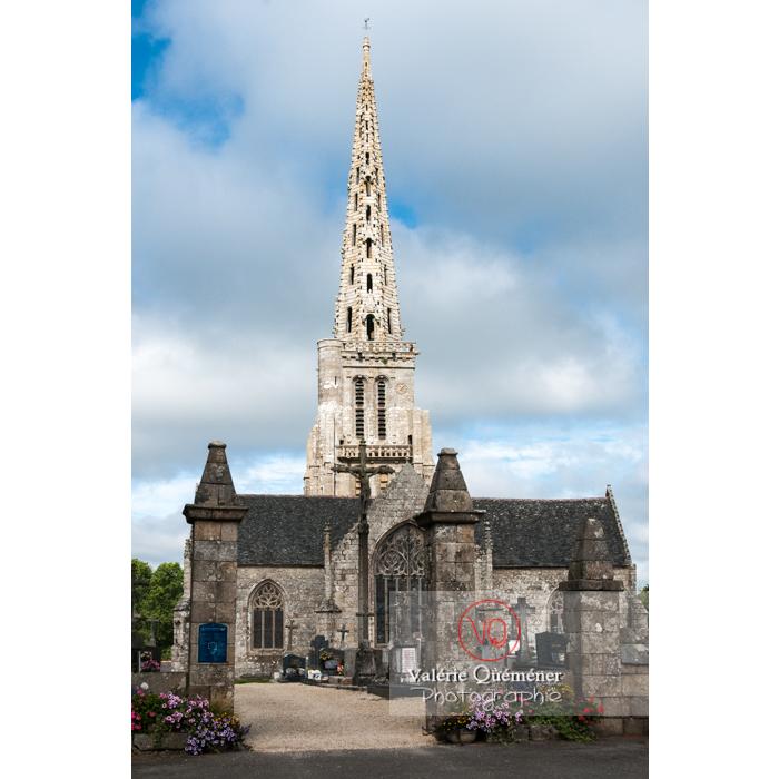 Église de Bulat-Pestivien / Côtes d'Armor / Bretagne - Réf : VQFR22-0480 (Q2)