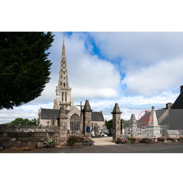 Église de Bulat-Pestivien / Côtes d'Armor / Bretagne - Réf : VQFR22-0481 (Q2)