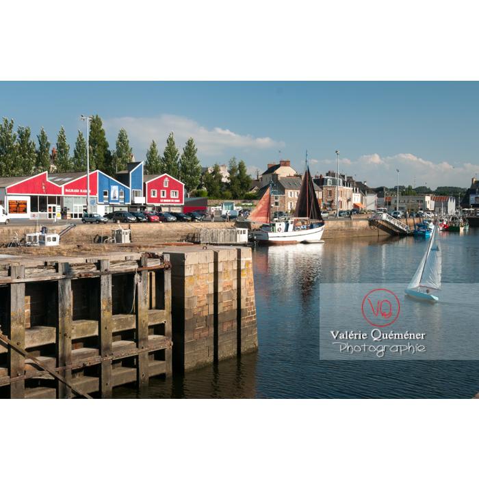 Port de Paimpol / Côtes d'Armor / Bretagne - Réf : VQFR22-0928 (Q2)