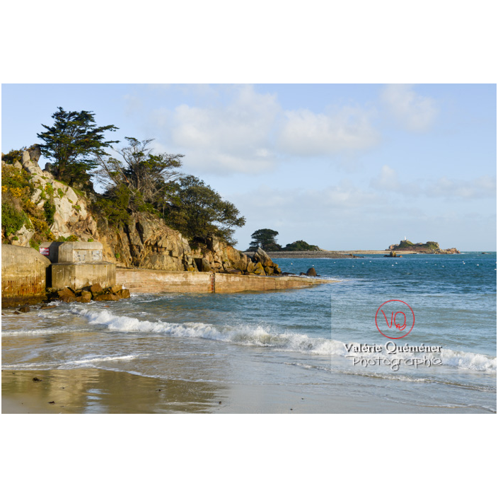 Baie de Port-Blanc à marée haute, commune de Penvénan / Côtes d'Armor (22) / France - Réf : VQFR22-3091 (Q3)
