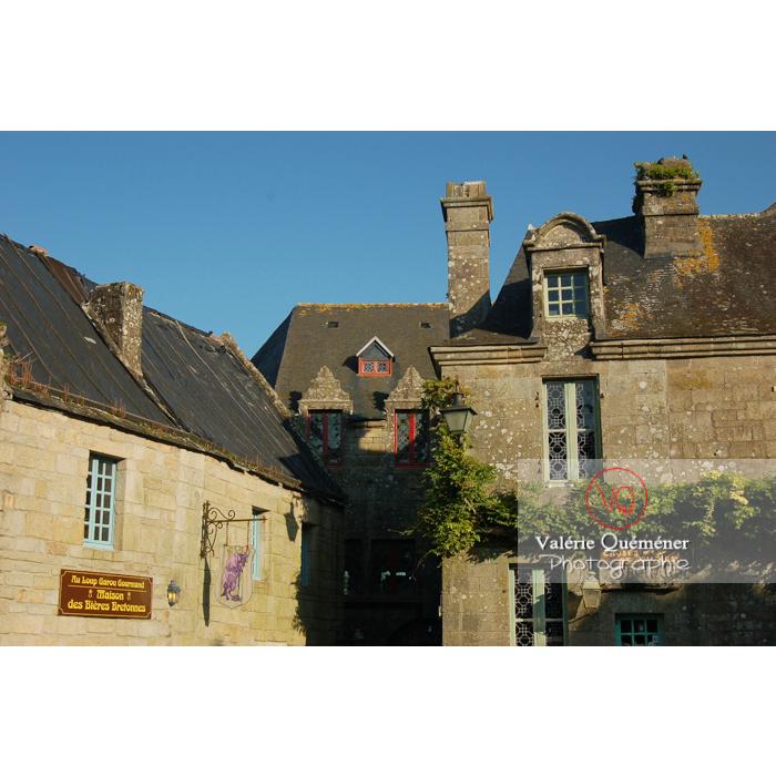 Maisons en pierres de Locronan / Finistère / Bretagne - Réf : VQFR29-0181 (Q1)