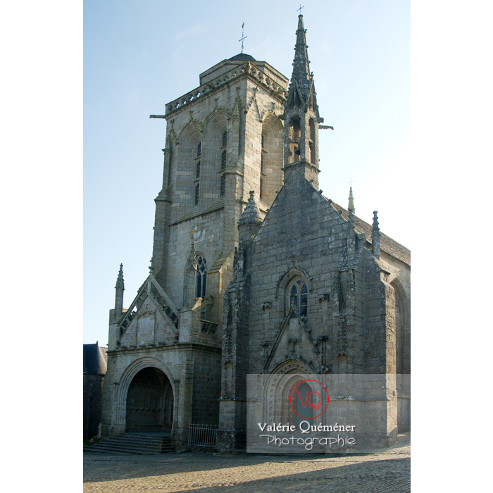 Église Saint-Ronan à Locronan / Finistère / Bretagne - Réf : VQFR29-0185 (Q1)