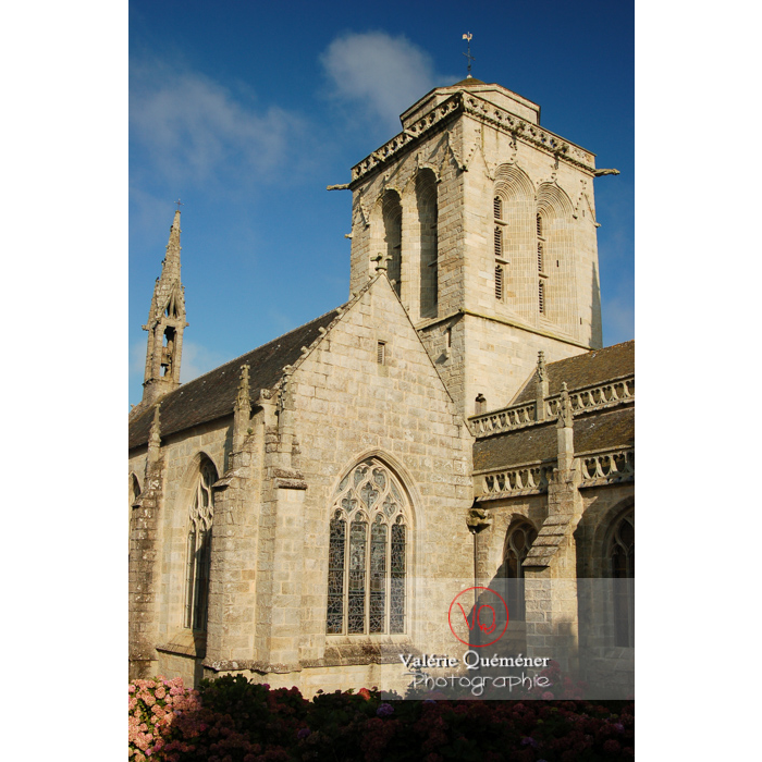 Église Saint-Ronan à Locronan / Finistère / Bretagne - Réf : VQFR29-0189 (Q1)