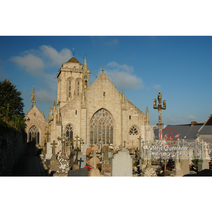 Église Saint-Ronan à Locronan / Finistère / Bretagne - Réf : VQFR29-0191 (Q1)