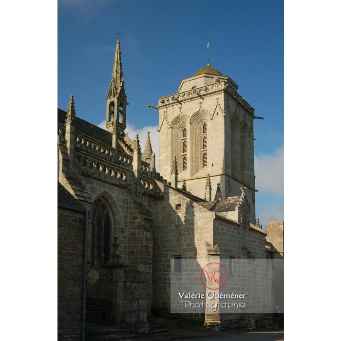Église Saint-Ronan à Locronan / Finistère / Bretagne - Réf : VQFR29-0194 (Q1)