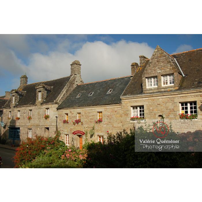 Maisons en pierres de Locronan / Finistère / Bretagne - Réf : VQFR29-0196 (Q1)