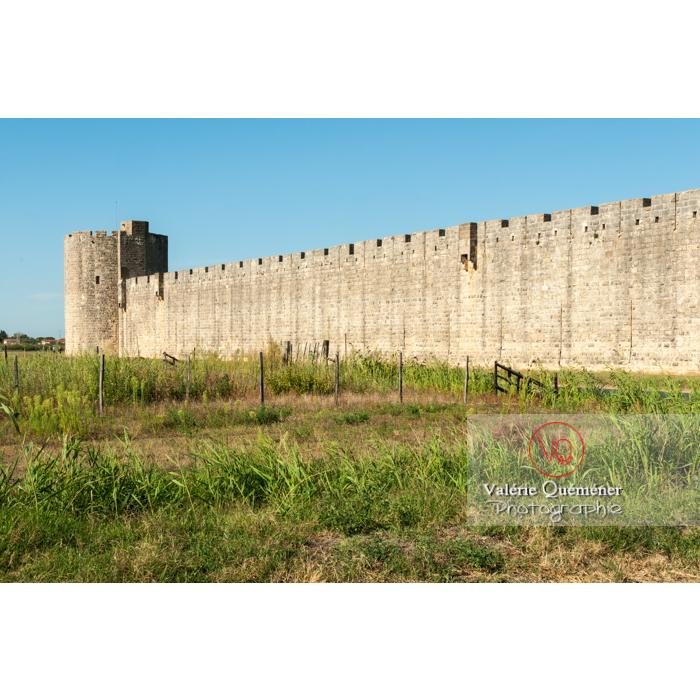 Remparts de la ville fortifiée d'Aigues-Mortes / Gard / Occitanie - Réf : VQFR30-0020 (Q2)
