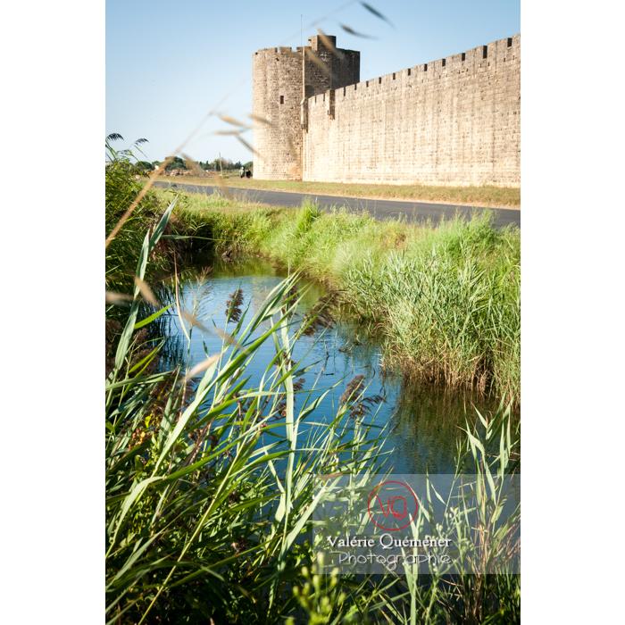 Remparts de la ville fortifiée d'Aigues-Mortes / Gard / Occitanie - Réf : VQFR30-0022 (Q2)