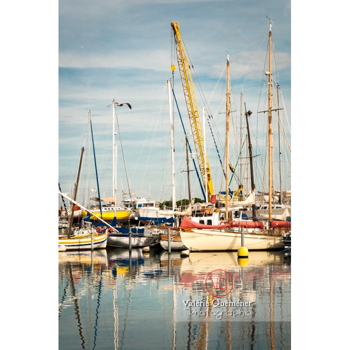 Bateaux au port du Grau-du-Roi / Gard / Occitanie - Réf : VQFR30-0029 (Q2)