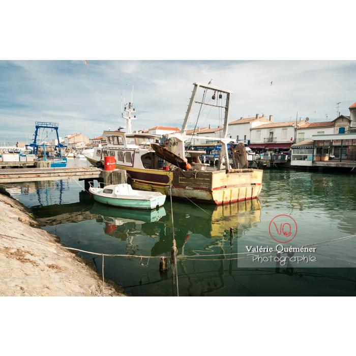 Port du Grau-du-Roi / Gard / Occitanie - Réf : VQFR30-0036 (Q2)