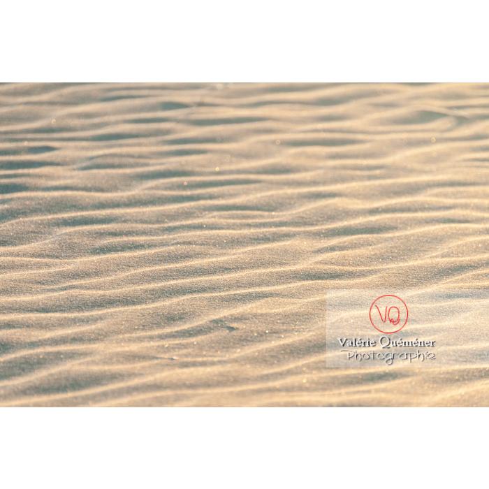 Sable fin de la plage de l'Espiguette, petite camargue / Gard / Occitanie - Réf : VQFR30-0093 (Q2)