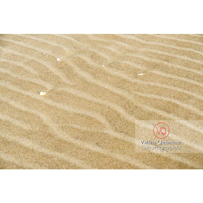 Sable fin de la pointe de l'Espiguette en petite camargue / Gard / Occitanie - Réf : VQFR30-0259 (Q3)
