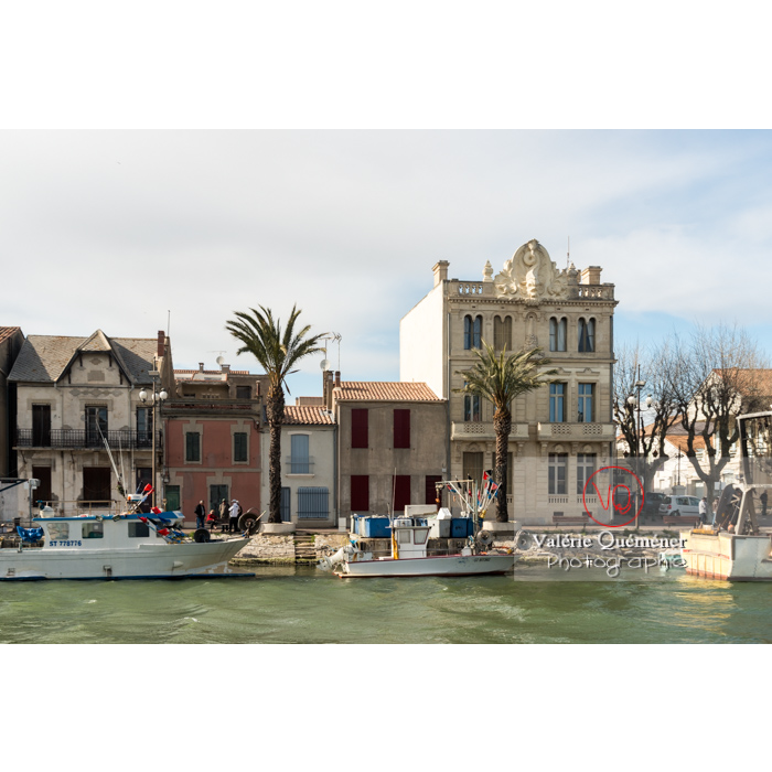 Port du Grau-du-Roi / Gard / Occitanie - Réf : VQFR30-0275 (Q3)