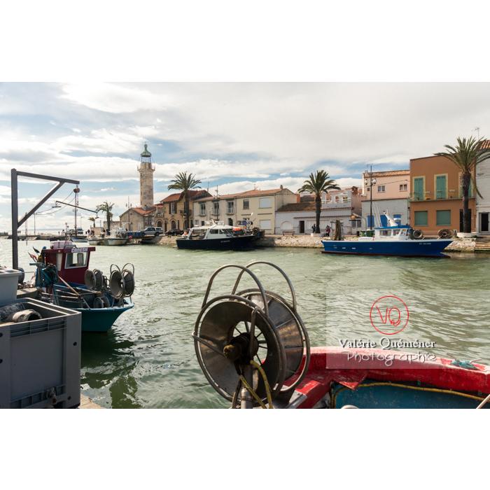 Port du Grau-du-Roi / Gard / Occitanie - Réf : VQFR30-0276 (Q3)