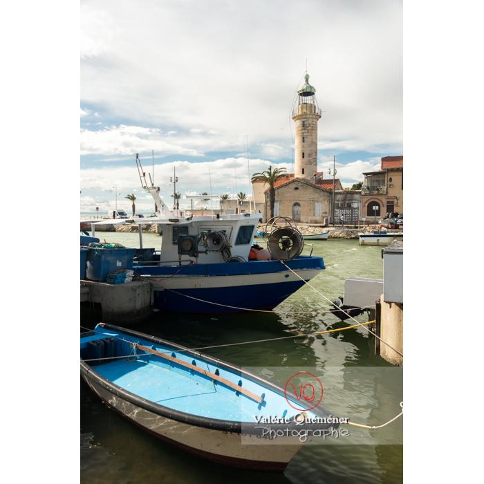 Phare et port du Grau-du-Roi / Gard / Occitanie - Réf : VQFR30-0278 (Q3)