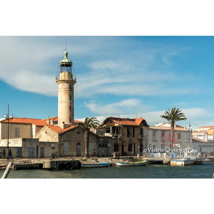 Phare et port du Grau-du-Roi / Gard / Occitanie - Réf : VQFR30-0279 (Q3)