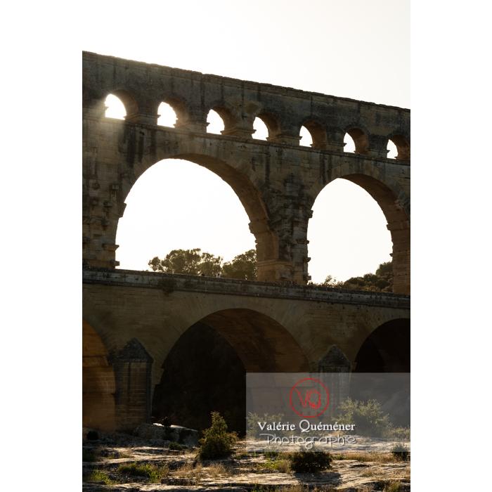 Le pont du Gard (MH) / Occitanie - Réf : VQFR30-0422 (Q3)