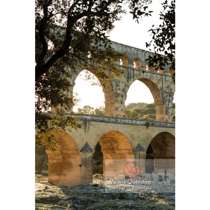 Le pont du Gard (MH) / Occitanie - Réf : VQFR30-0441 (Q3)
