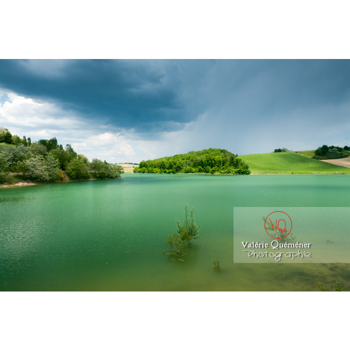 Lac de la Balerme sur la commune de Verfeil / Haute-Garonne / Occitanie - Réf : VQFR31-0095 (Q2)