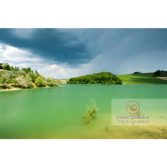 Lac de la Balerme sur la commune de Verfeil / Haute-Garonne / Occitanie - Réf : VQFR31-0096 (Q2)