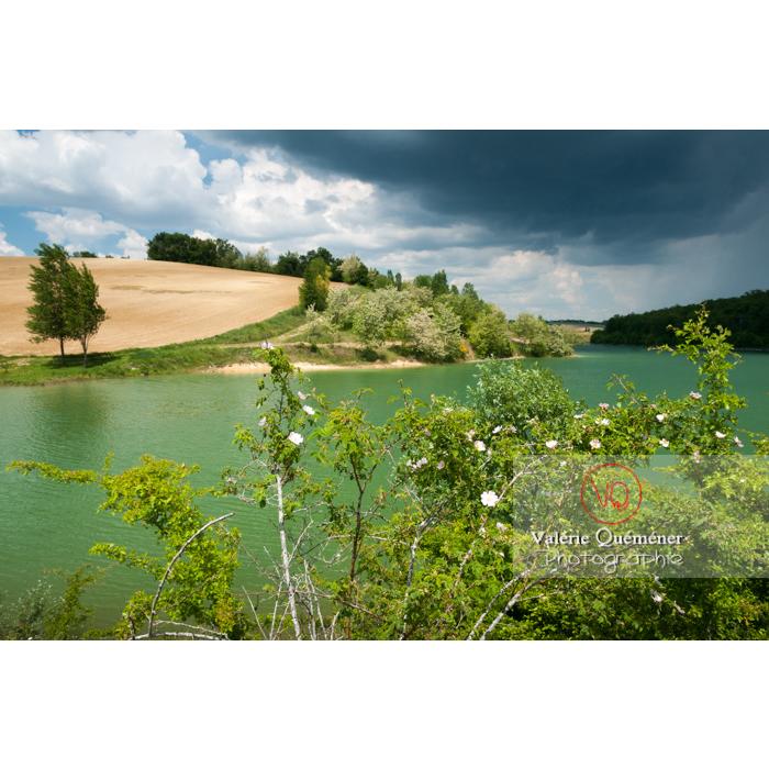 Lac de la Balerme sur la commune de Verfeil / Haute-Garonne / Occitanie - Réf : VQFR31-0098 (Q2)