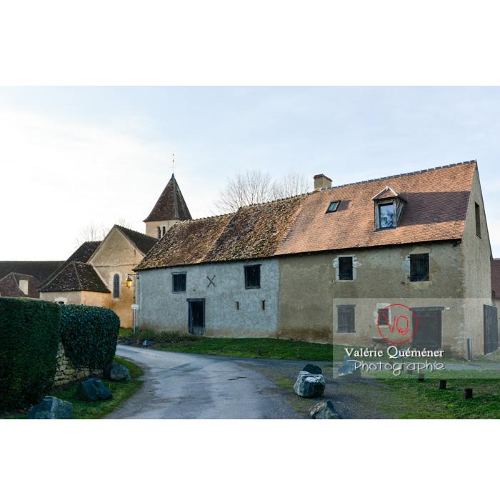 Village de Nohant-Vic dans l'Indre - Réf : VQFR36-0001 (Q3)