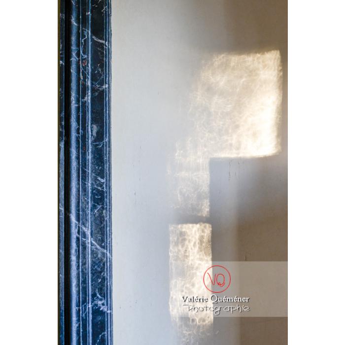 Détail de la maison de George Sand à Nohant-Vic / Indre - Réf : VQFR36-0012 (Q3)