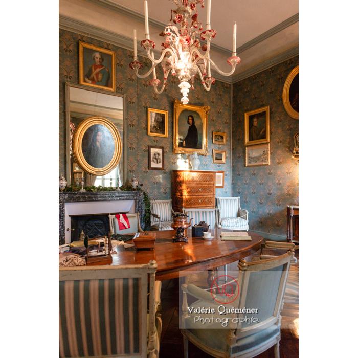 Pièce intérieur maison de George Sand à Nohant-Vic / Indre - Réf : VQFR36-0019 (Q3)