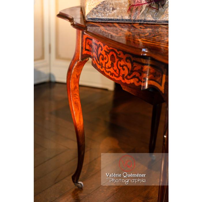Détail mobilier dans la maison de George Sand à Nohant-Vic / Indre - Réf : VQFR36-0031 (Q3)