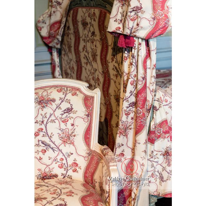 Détail mobilier dans la maison de George Sand à Nohant-Vic / Indre - Réf : VQFR36-0032 (Q3)