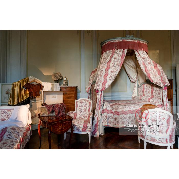 Intérieur maison de George Sand à Nohant-Vic - Réf : VQFR36-0034 (Q3)
