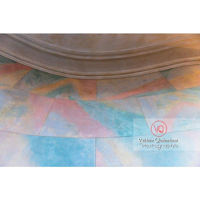 Détail mur dans la maison de George Sand à Nohant-Vic / Indre / Centre-Val-de-Loire - Réf : VQFR36-0048 (Q3)