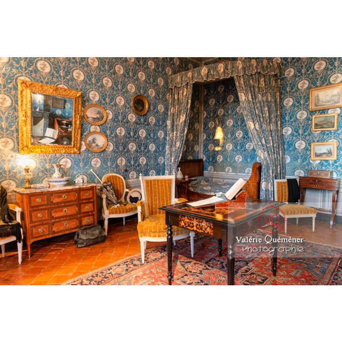 Chambre de la maison de George Sand à Nohant-Vic / Indre - Réf : VQFR36-0054 (Q3)