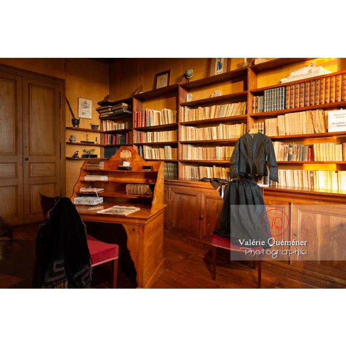 Pièce d'écriture de la maison de George Sand à Nohant-Vic / Indre - Réf : VQFR36-0055 (Q3)