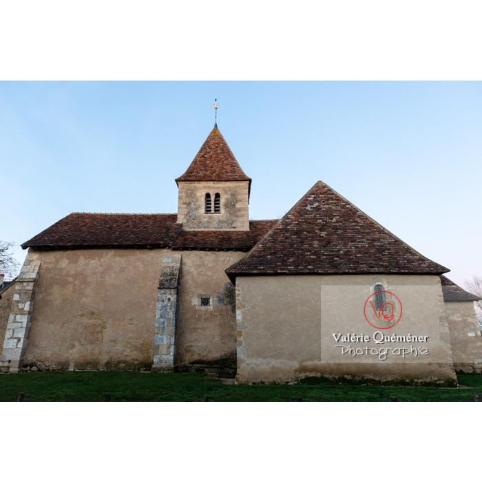 Eglise Sainte-Anne du village de Nohant-Vic / Indre / Centre Val-de-Loire - Réf : VQFR36-0069 (Q3)