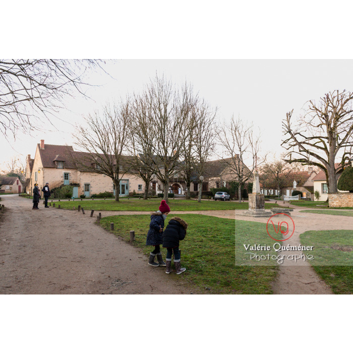 Village de Nohant-Vic dans l'Indre - Réf : VQFR36-0071 (Q3)