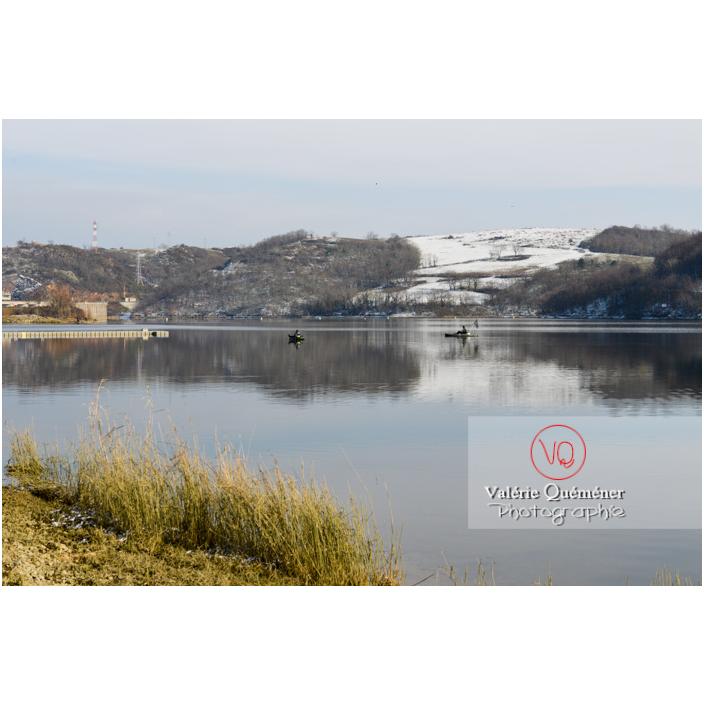 Lac de Villerest en hiver / Loire / Auvergne-Rhône-Alpes - Réf : VQFR42-0032 (Q3)