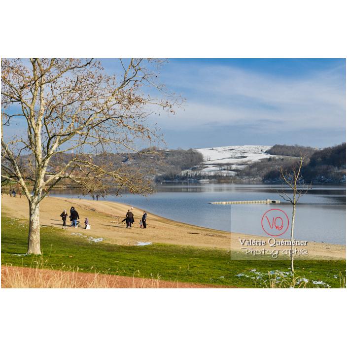 Lac de Villerest en hiver / Loire / Auvergne-Rhône-Alpes - Réf : VQFR42-0046 (Q3)