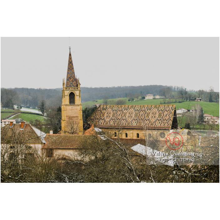 Ancienne église abbatiale (MH) de La Bénisson-Dieu / Loire / Auvergne-Rhône-Alpes - Réf : VQFR42-0115 (Q3)