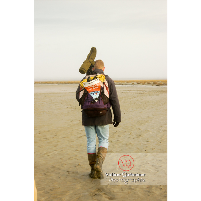 Balade avec un guide dans la baie du Mont-St-Michel à marée basse - Réf : VQFR50-0010 (Q1)