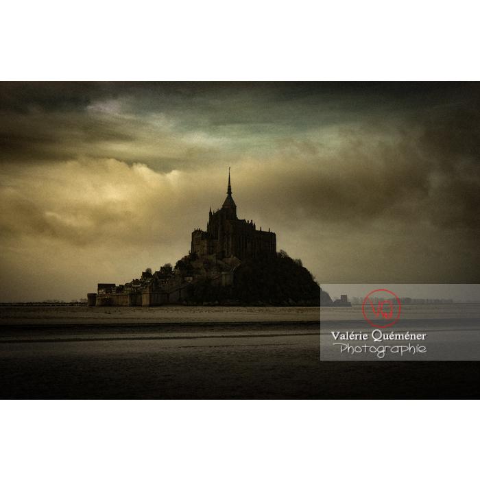 Mont St-Michel et sa baie à marée basse - Réf : VQFR50-0022-TA (Q1)