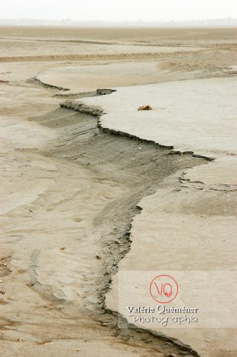 Baie du Mont-St-Michel à marée basse - Réf : VQFR50-0028 (Q1)