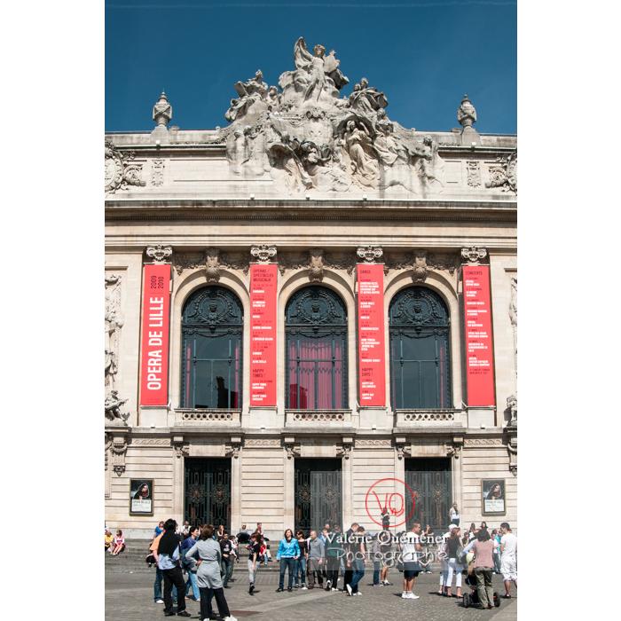 Opéra de Lille / Nord / Hauts-de-France / France - Réf : VQFR59-0004 (Q2)