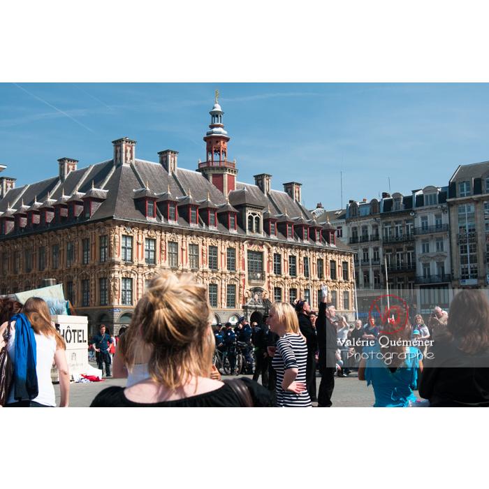 La vieille bourse sur la Grand'Place à Lille - Réf : VQFR59-0010 (Q2)