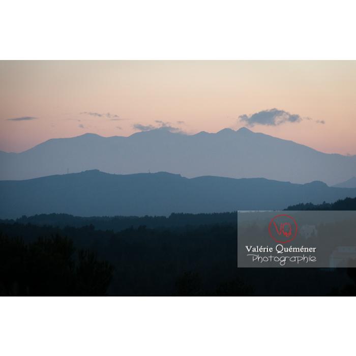 Massif du Canigou et son pic, Pyrénées-Orientales / Occitanie / France - Réf : VQFR66-0318 (Q2)
