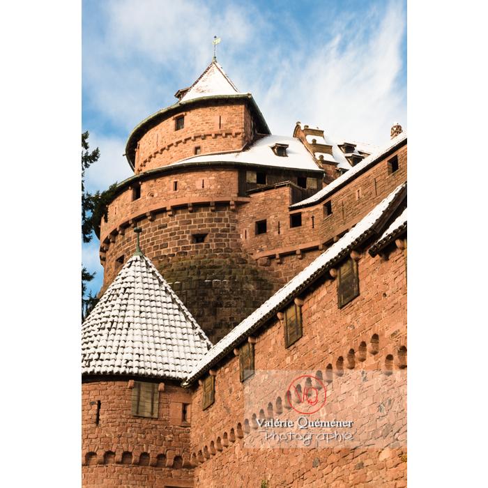 Grand-bastion du château du Haut-Koenigsbourg (MH) / Orschwiller / Bas-Rhin / Grand-Est - Réf : VQFR67-0041 (Q3)