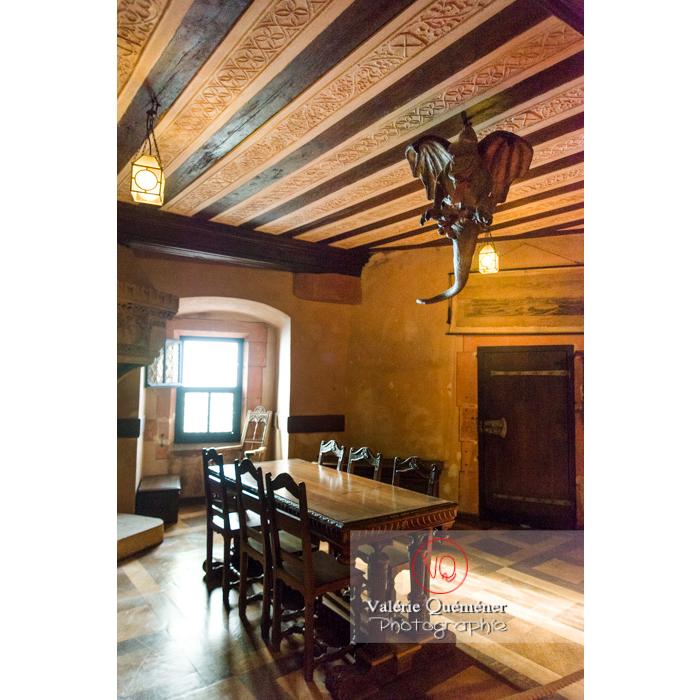 Chambre lorraine au château du Haut-Koenigsbourg (MH) / Orschwiller / Bas-Rhin / Grand-Est - Réf : VQFR67-0106 (Q3)