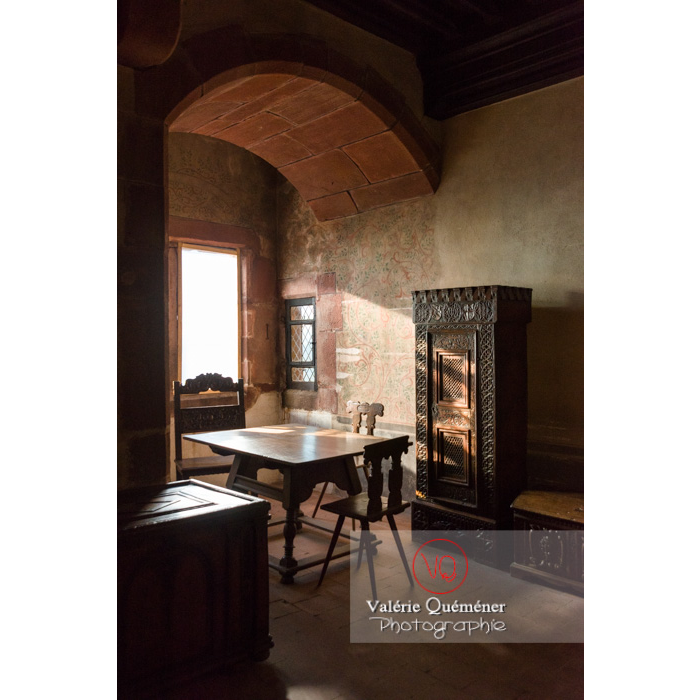 Salle oriel au château du Haut-Koenigsbourg (MH) / Orschwiller / Bas-Rhin / Grand-Est - Réf : VQFR67-0127 (Q3)