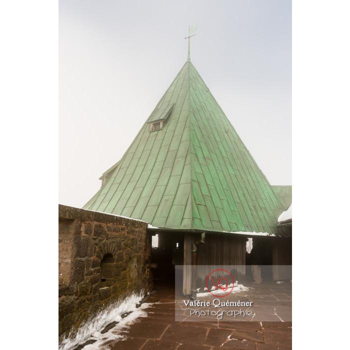 Tour couverte au château du Haut-Koenigsbourg (MH) / Orschwiller / Bas-Rhin / Grand-Est - Réf : VQFR67-0172 (Q3)