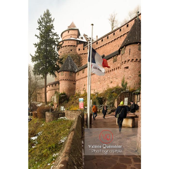 Château du Haut-Koenigsbourg (MH) / Orschwiller / Bas-Rhin / Grand-Est - Réf : VQFR67-0202 (Q3)